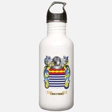 Hayden Coat of Arms (Family Crest) Water Bottle