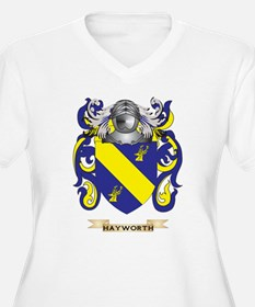 Hayworth Coat of Arms (Family Crest) Plus Size T-S