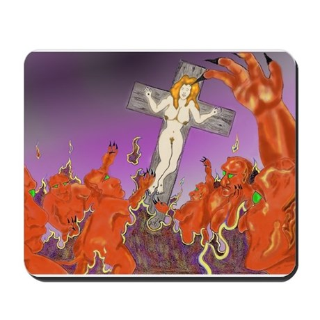 Fall From Grace Mousepad