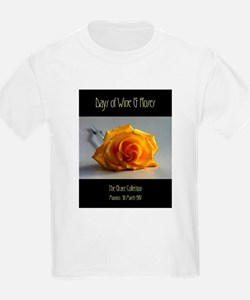 Days of Wine & Roses Kids T-Shirt