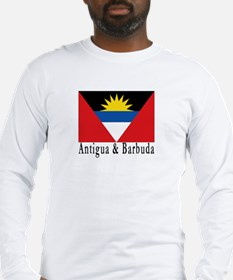 Antigua and Barbuda Long Sleeve T-Shirt