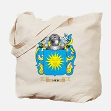 Heb Coat of Arms (Family Crest) Tote Bag