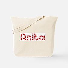 Anita - Candy Cane Tote Bag