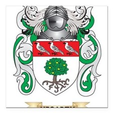 Hegarty Coat of Arms (Family Crest) Square Car Mag