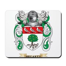 Hegarty Coat of Arms (Family Crest) Mousepad