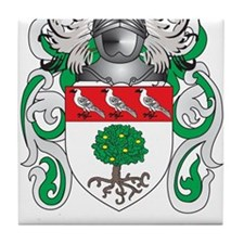 Hegarty Coat of Arms (Family Crest) Tile Coaster