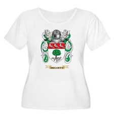 Hegarty Coat of Arms (Family Crest) Plus Size T-Sh
