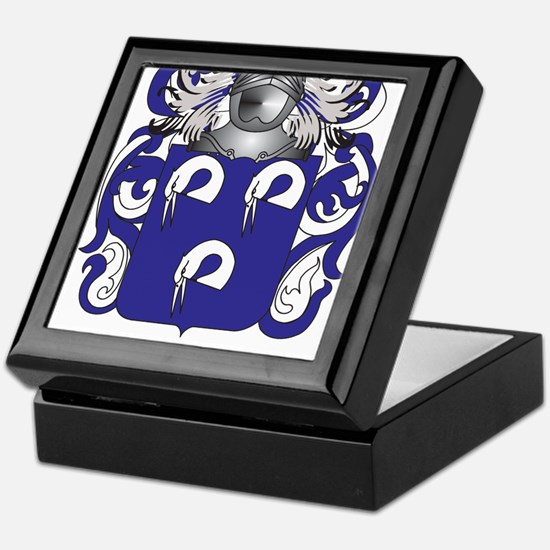 Heger Coat of Arms (Family Crest) Keepsake Box