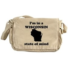 Im In A Wisconsin State Of Mind Messenger Bag