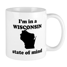 Im In A Wisconsin State Of Mind Mug