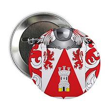 "Heikkinen Coat of Arms (Family Crest) 2.25"" Button"