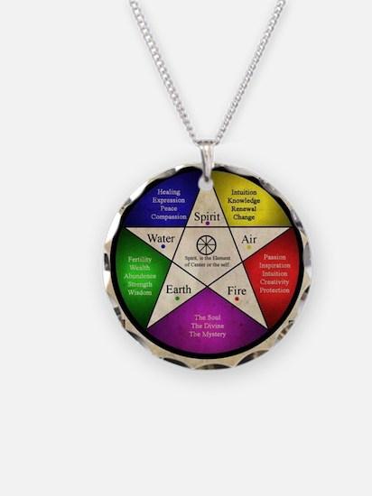 Elemental Pentagram Necklace