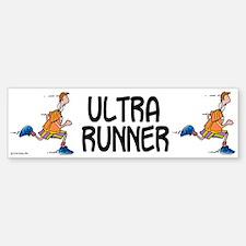 Ultra Runner Bumper Bumper Bumper Sticker