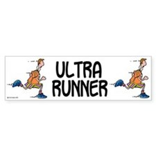 Ultra Runner Bumper Bumper Sticker