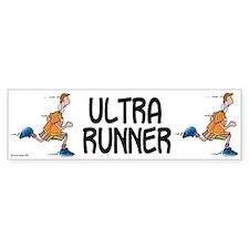 Ultra Runner Bumper Car Sticker