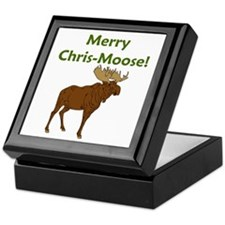 JUST DISCOUNTED... Merry Chris-Moose! Keepsake Box