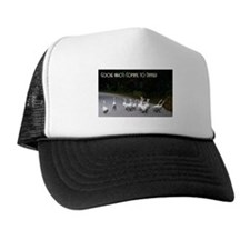 Goose Who's Coming To Dinner Trucker Hat
