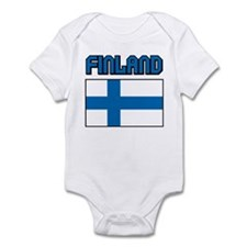 Finland Flag Infant Bodysuit