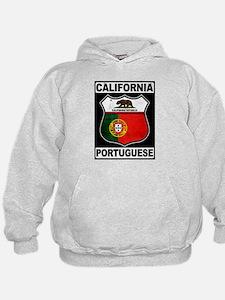 California Portuguese American Hoodie