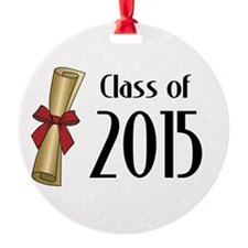 Class of 2015 Diploma Ornament
