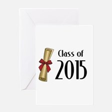 Class of 2015 Diploma Greeting Card