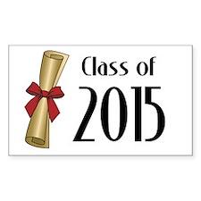 Class of 2015 Diploma Decal