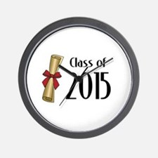 Class of 2015 Diploma Wall Clock