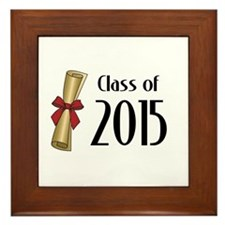 Class of 2015 Diploma Framed Tile