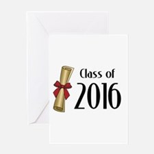 Class of 2016 Diploma Greeting Card
