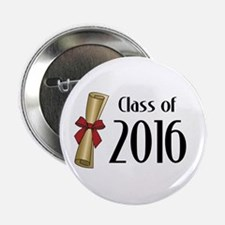 """Class of 2016 Diploma 2.25"""" Button (10 pack)"""