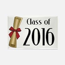 Class of 2016 Diploma Rectangle Magnet