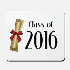 Class of 2016 Diploma Mousepad