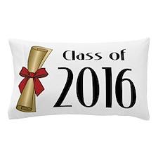 Class of 2016 Diploma Pillow Case