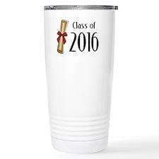 Class of 2016 Diploma Travel Mug