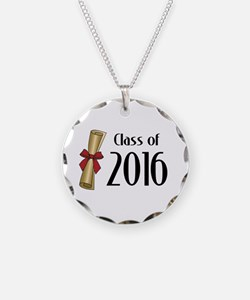Class of 2016 Diploma Necklace