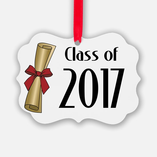 Class of 2017 Diploma Ornament
