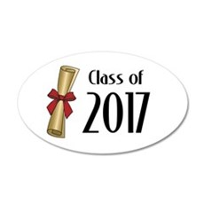Class of 2017 Diploma Wall Decal