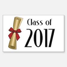 Class of 2017 Diploma Decal