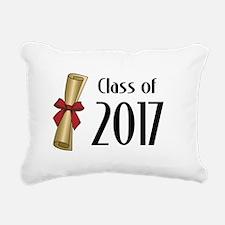 Class of 2017 Diploma Rectangular Canvas Pillow