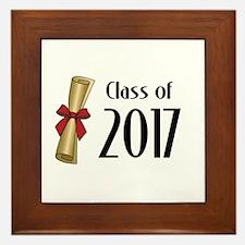 Class of 2017 Diploma Framed Tile
