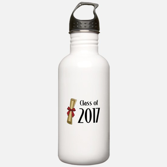 Class of 2017 Diploma Water Bottle
