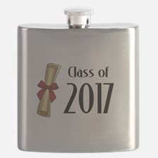 Class of 2017 Diploma Flask