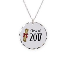 Class of 2017 Diploma Necklace