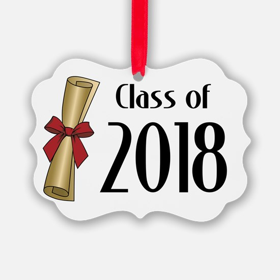 Class of 2018 Diploma Ornament