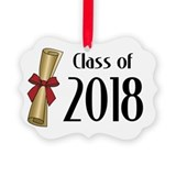 2018 graduation Picture Frame Ornaments