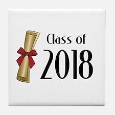 Class of 2018 Diploma Tile Coaster