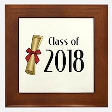Class of 2018 Diploma Framed Tile