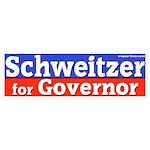 Schweitzer for Governor Bumper Sticker