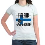 Finland Rocks Jr. Ringer T-Shirt