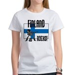 Finland Rocks Women's T-Shirt